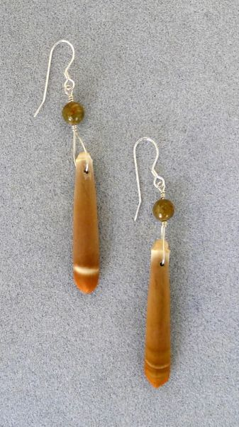 Sea Urchin Spine Earrings