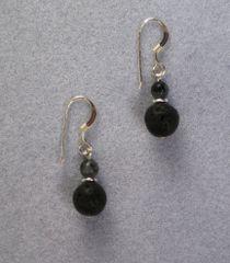 Lava Rock Earrings