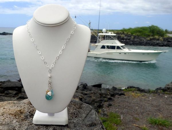 Mini Floater Charm Necklace