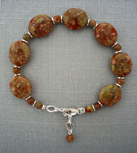 Autumn Jasper Bracelet