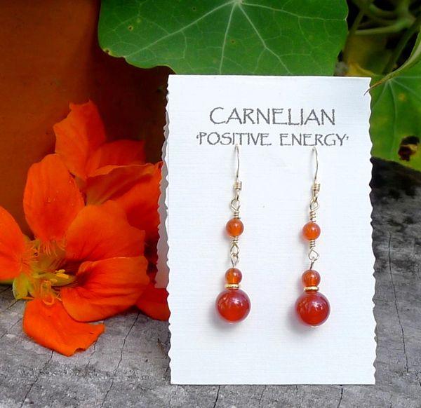 Carnelian an 14kt Gold Filled Earrings