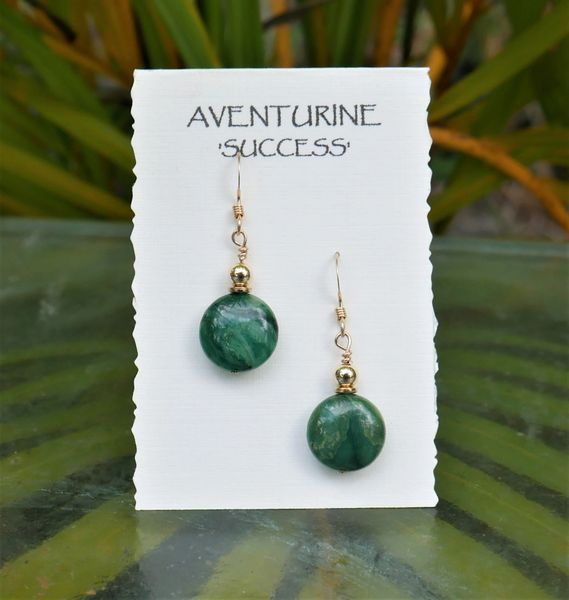 Aventurine Earrings