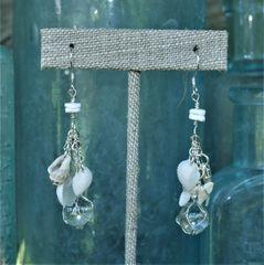 Beachcomber Earrings in White
