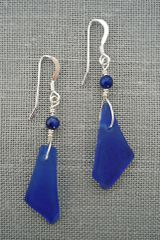 Beach Glass Earrings - Medium