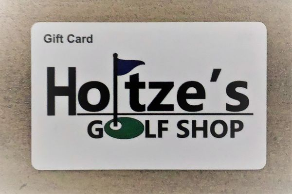 Holtze's Golf Shop Gift Card