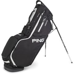 Ping Hoofer Stand Bag - Black White