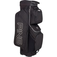 Ping Traverse Cart Bag - Black White