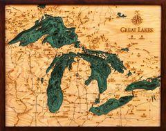 GREAT LAKES - ( All 5 Lakes )
