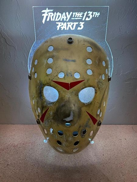 LED Hockey Mask Stand