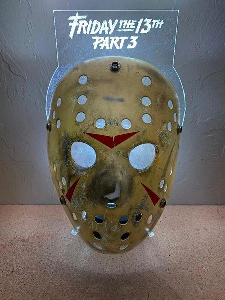 LED Hockey Mask Stand