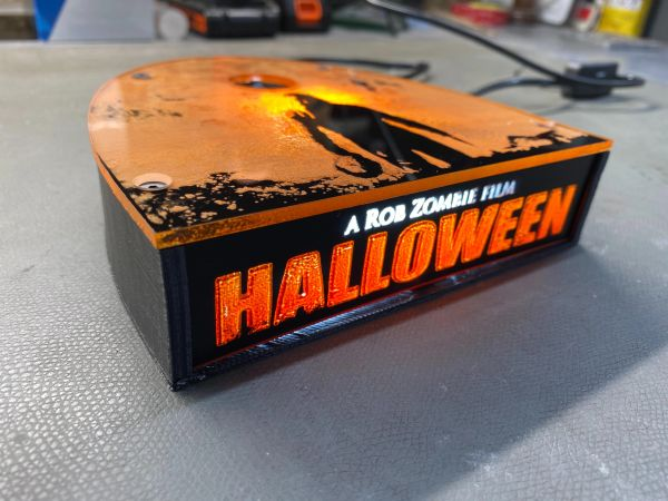 Rob Zombies Halloween Limited Edition Lighted Display Stand