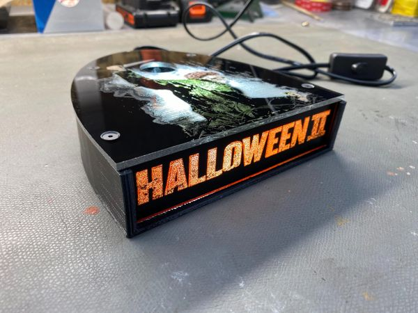 Rob Zombies Halloween II Limited Edition Lighted Display Stand
