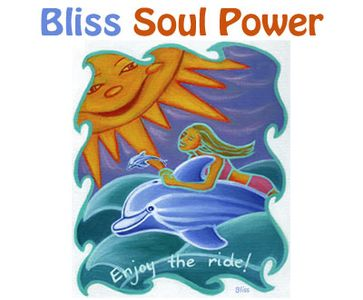 Bliss Soul Power – 'Enjoy the ride' art image.