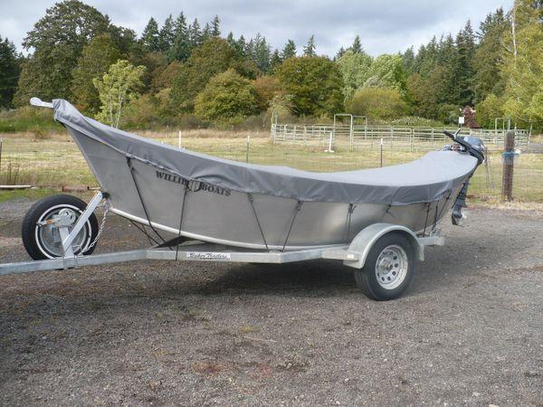 Willie - 14'-17' Drift Boat Cover