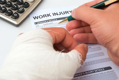 If a work related accident does occur, our team handles the accompanied paperwork for you.
