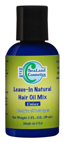 Leave-In Natural Hair Oil Mix (4 OZ)