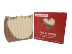 """Love Grows"" Soap with Rosemary & Tea Tree"