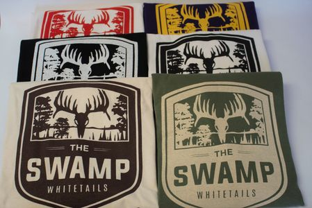 The Swamp Whitetails Long Sleeve Shirts