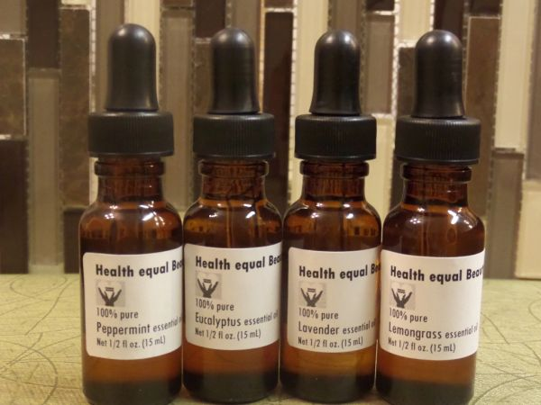 4 Popular Essential Oils Beginner Set