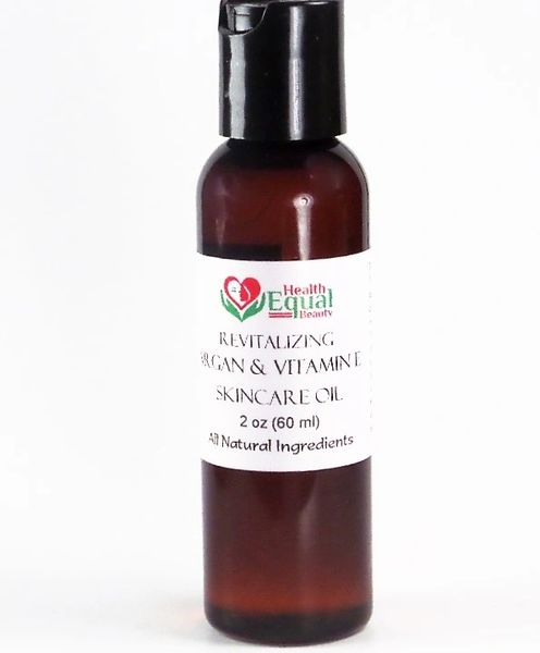 Revitalizing Argan & Vitamin E Skincare Oil
