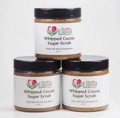 Whipped Cocoa Sugar Scrub Set of 3
