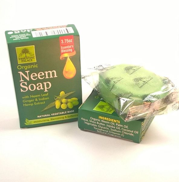 All Natural Organic Neem Soap 3.75 oz