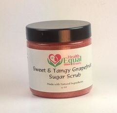Sweet & Tangy Grapefruit Sugar Scrub
