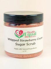 Whipped Strawberry Cream Sugar Scrub 4oz