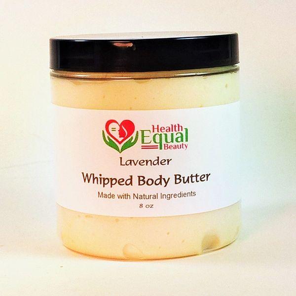 Lavender body butter 8 oz