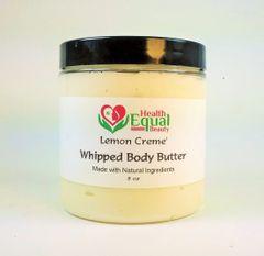 Lemon Creme' body butter 8 oz