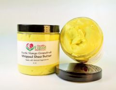 Exotic Mango Grapefruit Whipped Shea Butter 8 oz