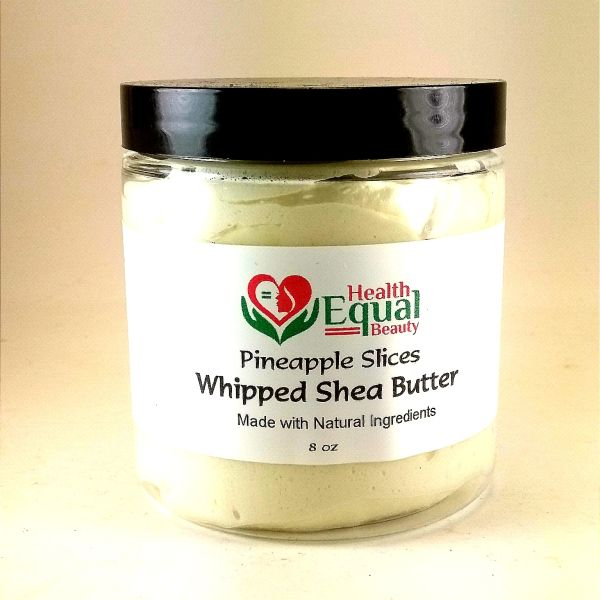 Pineapple Slices Whipped Shea Butter 8 oz