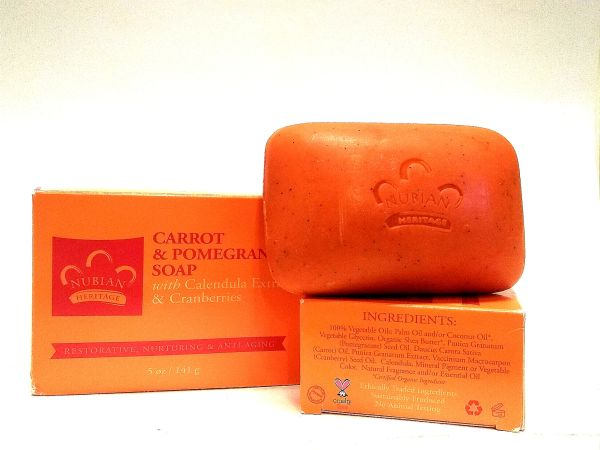 Carrot & Pomegranate Soap 5 oz