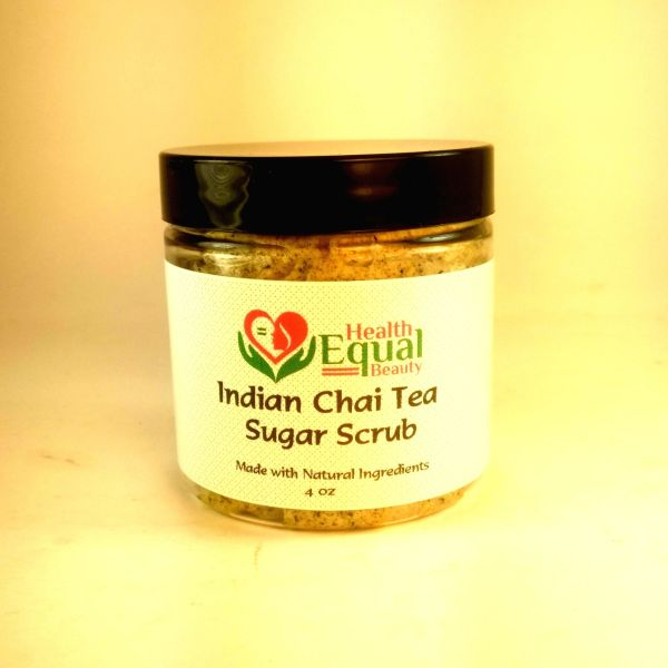 Indian Chai Tea Sugar Scrub