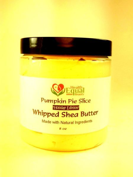 Pumpkin Pie Slice Whipped Shea Butter (Limited Holiday Edition)