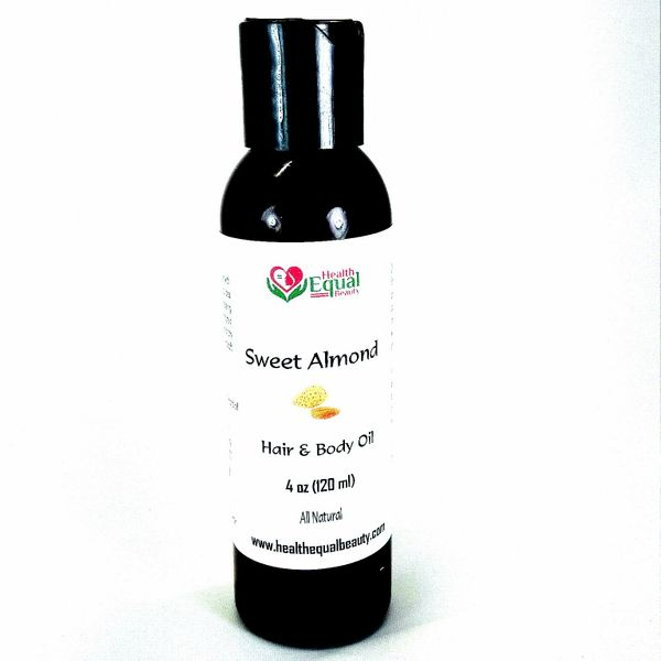Pure Sweet Almond Oil 4 oz