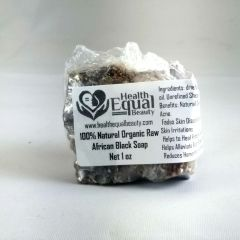 Pure African Black Soap 1 oz (SAMPLE)
