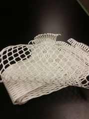 G3 Semi-Soft Goalie Mesh (WHITE)