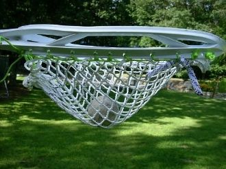 12 Diamond HT Nylon Goalie Semi-Hard Lacrosse Mesh