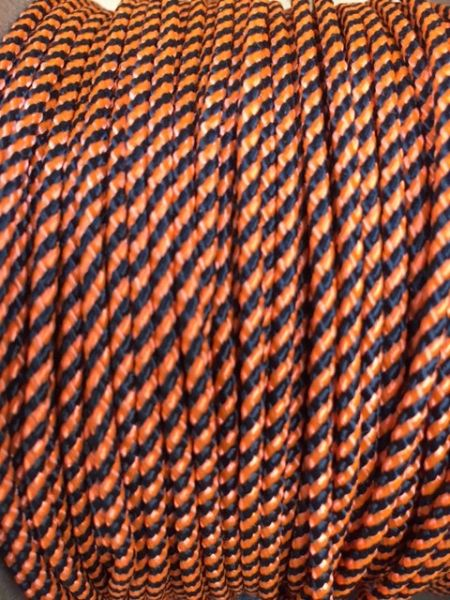 TOP / SIDE WALL STRING (BLACK/ORANGE) 1 Yard