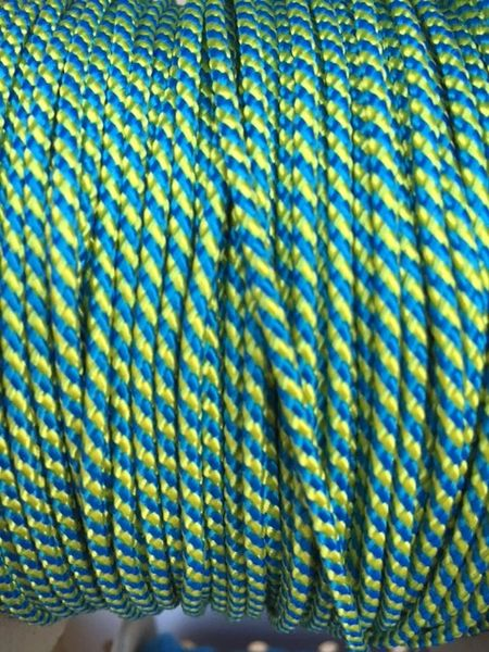 TOP / SIDE WALL STRING (GREEN \ YELLOW) 1 Yard