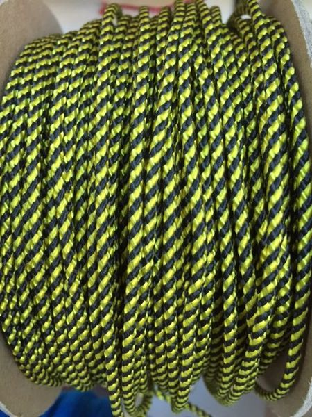 TOP / SIDE WALL STRING (BLK \ YELLOW) 1 Yard