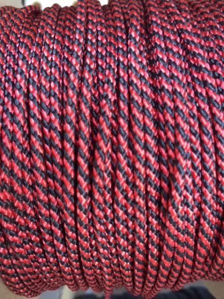 TOP / SIDE WALL STRING (BLACK \ RED) 1 Yard