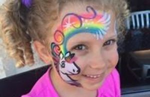Art on the spot Face painting birthdays kids events South east ma Rhode Island Middleboro
