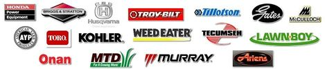 Service all major brands. Honda, Briggs and Stratton, Kohler, Lawn Boy, Onan, Generac
