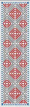 Plastic book mark squares #2