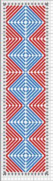 Squares #3 Plastic Book Mark