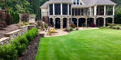 Irrigation helps to maintain the landscape you have always wanted.