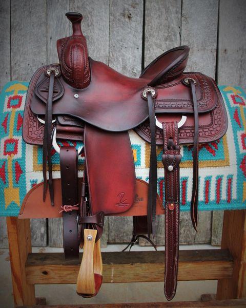 DC Cow Horse Gear Custom Ranch Cutter 13 1/4