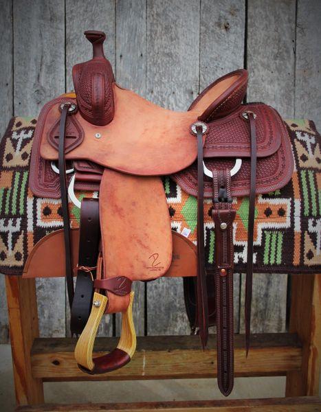 DC Cow Horse Gear Custom Ranch Cutter 14 1/4